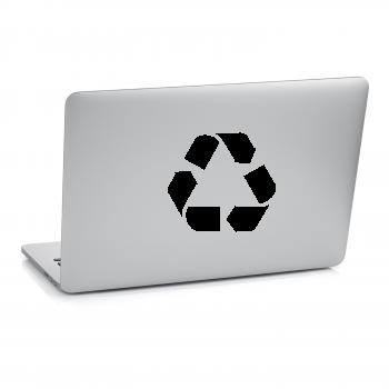 Samolepka na notebook - Recyklace