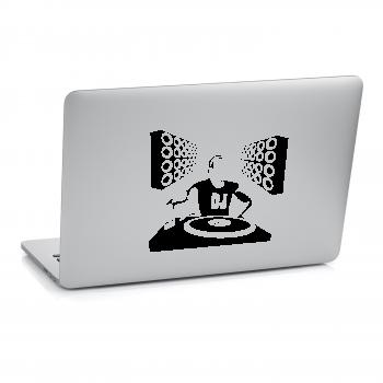 Samolepka na notebook - Dj