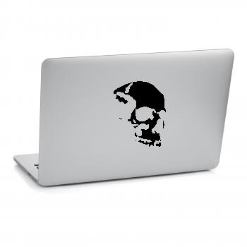 Samolepka na notebook - Lebka