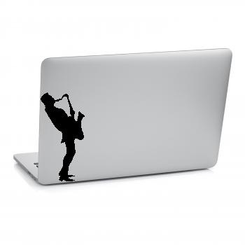 Samolepka na notebook - Hudebník