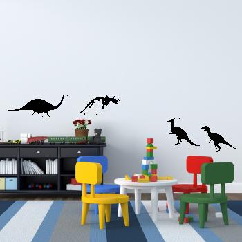 Samolepka na zeď - Dinosauři set