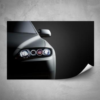 Plakát - Přední světlo auta