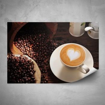 Plakát - Kávová zrna