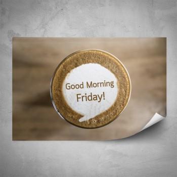 Plakát - Páteční káva