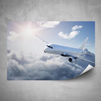 Plakát - Nakloněné letadlo