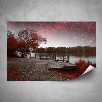 Plakát - Červené molo