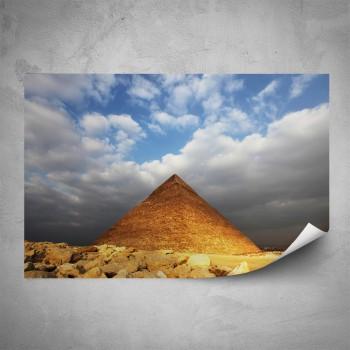 Plakát - Pyramida v poušti