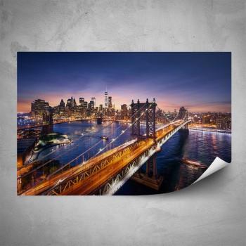 Plakát - Noční město