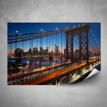 Plakát - Noční most