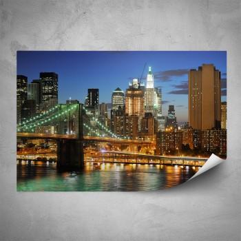 Plakát - Noční New York