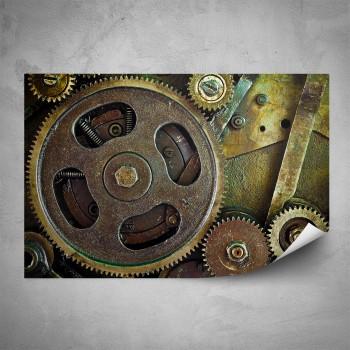 Plakát - Ozubená kola