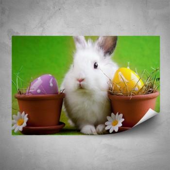 Plakát - Bílý králíček