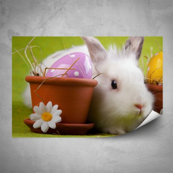 Plakát - Velikonoční králíček