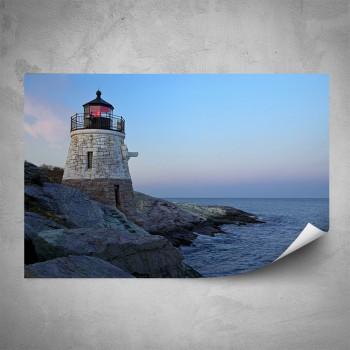 Plakát - Maják na pobřeží