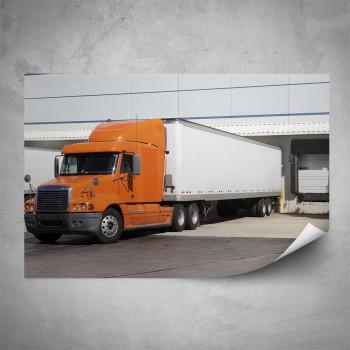 Plakát - Oranžový kamión