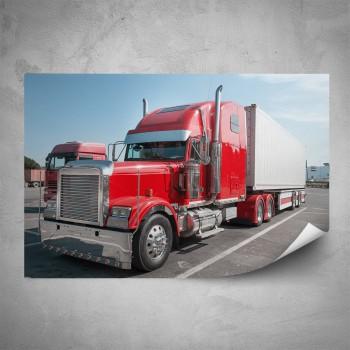 Plakát - Červený kamión