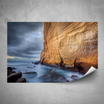 Plakát - Skalní útes