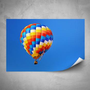 Plakát - Horkovzdušný balón