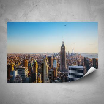 Plakát - Pohled na New York