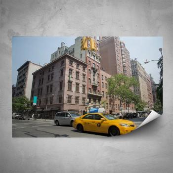 Plakát - Žluté taxi
