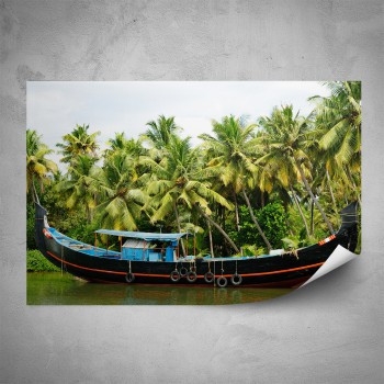 Plakát - Rybářská loď
