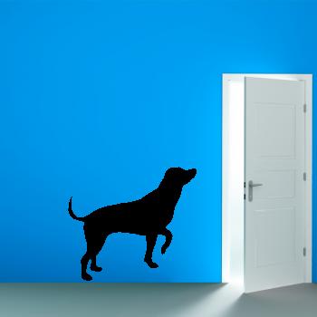 Samolepka na zeď - Silueta psa 2