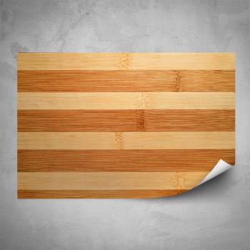 Plakát - Detail dřeva 2