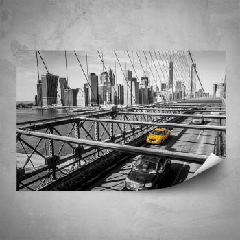 Plakát - Taxi na mostě