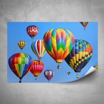 Plakát - Horkovzdušné balóny