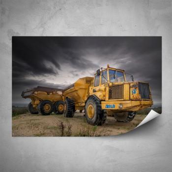 Plakát - Žlutý Truck