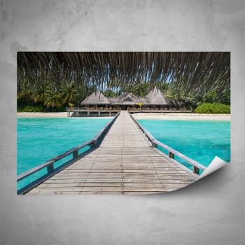 Plakát - Maledivy