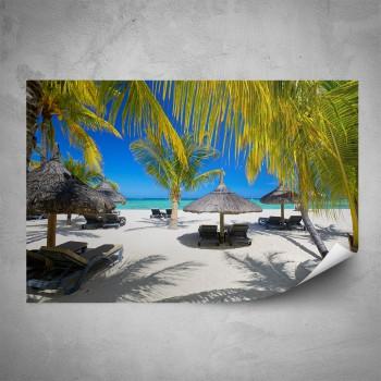 Plakát - Pláž v Karibiku