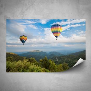 Plakát - Balóny nad krajinou