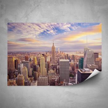 Plakát - Manhattan shora