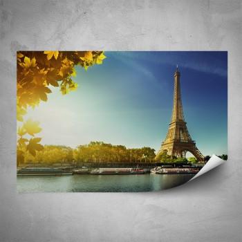 Plakát - Podzimní Paříž