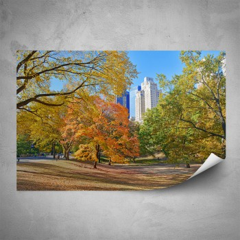 Plakát - Podzimní New York