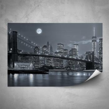 Plakát - Noc v New Yorku