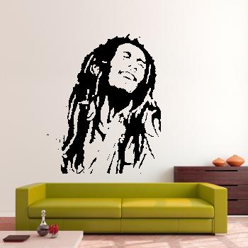 Samolepka na zeď - Bob Marley 2