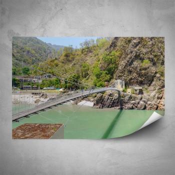 Plakát - Most přes řeku