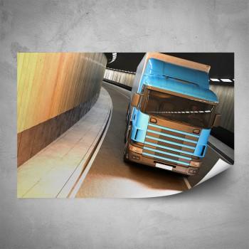 Plakát - Modrý kamión