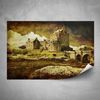 Plakát - Skotský hrad