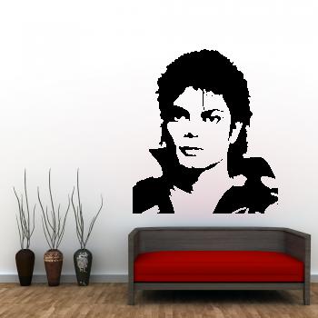 Samolepka na zeď - Michael Jackson 2