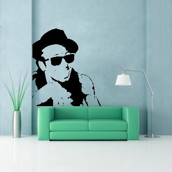 Samolepka na zeď - Lil Wayne