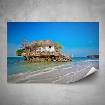 Plakát - Domek na ostrůvku
