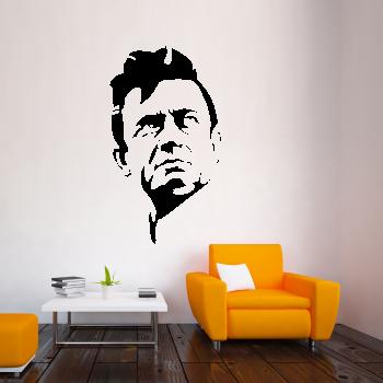 Samolepka na zeď - Johnny Cash