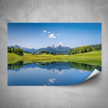 Plakát - Příroda v Alpách