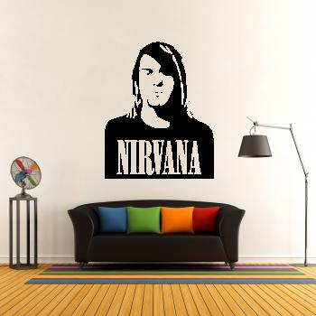 Samolepka na zeď - Nirvana