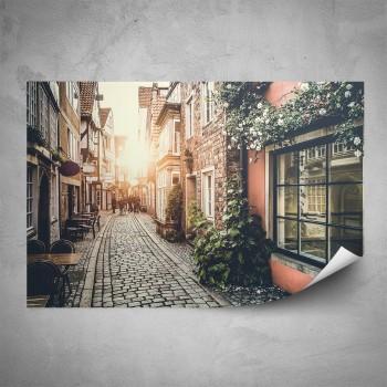 Plakát - Romantická ulička 2
