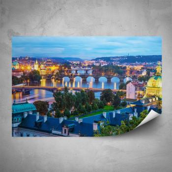 Plakát - Večerní Praha