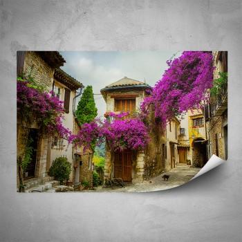Plakát - Růžová ulička